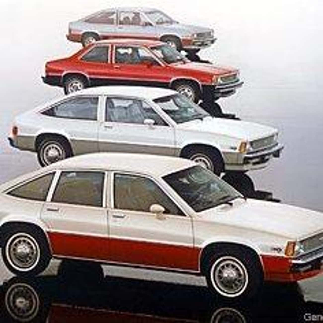 1980 Chevrolet Citation is listed (or ranked) 4 on the list List of Popular Hatchbacks