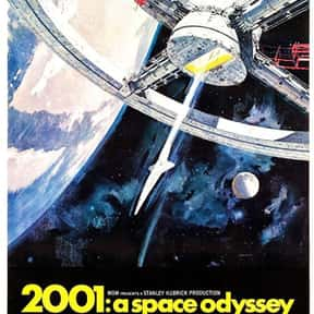 2001: A Space Odyssey is listed (or ranked) 8 on the list The Greatest Film Scores of All Time
