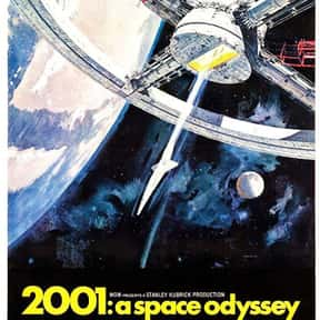 2001: A Space Odyssey is listed (or ranked) 6 on the list The Best Space Movies