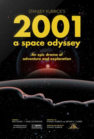 2001: A Space Odyssey is listed (or ranked) 2 on the list The Best Shows & Movies Set in the Future