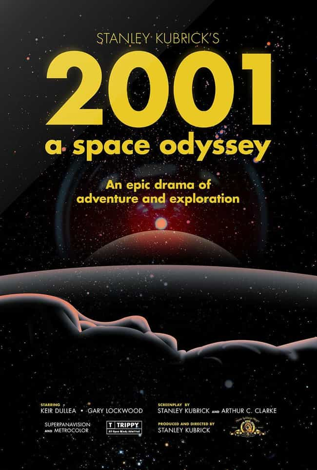 2001: A Space Odyssey is listed (or ranked) 4 on the list The Best Shows & Movies Set in the Future