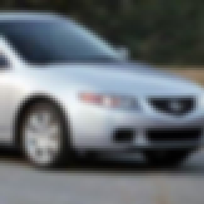 2004 Acura TSX is listed (or ranked) 2 on the list List of All Cars Made in 2004