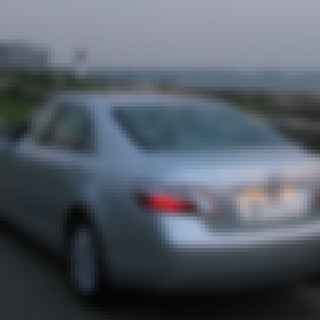 2007 Toyota Camry is listed (or ranked) 3 on the list List of Popular Toyota Sedans