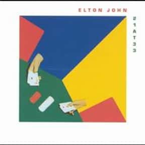 21 at 33 is listed (or ranked) 24 on the list The Best Elton John Albums of All Time