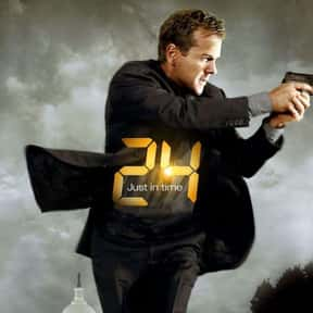 24 is listed (or ranked) 1 on the list The Best Action TV Series Of All Time