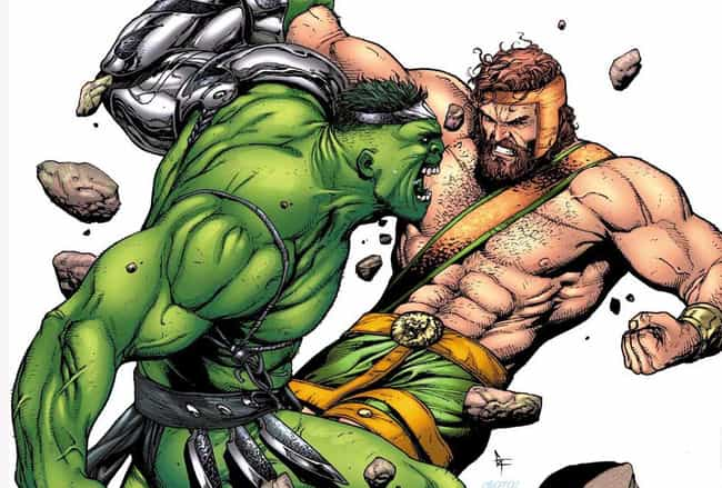 Hercules is listed (or ranked) 4 on the list The Best Facial Hair in Comics & Superheroes with Beards