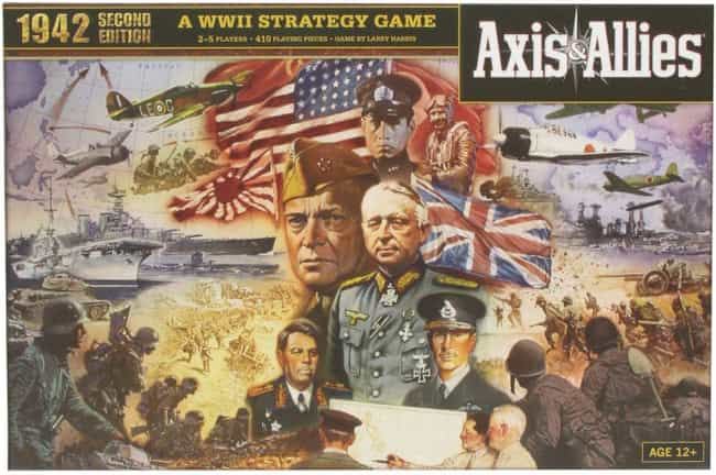 Axis & Allies is listed (or ranked) 4 on the list 21 Extremely Long Board Games To Help Pass The Time While You're Stuck Inside