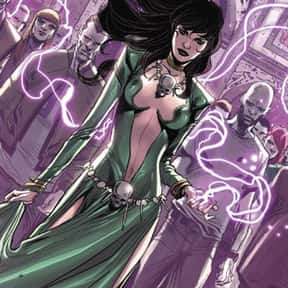 Morgan le Fay is listed (or ranked) 6 on the list The Best Doctor Strange Villains Ever