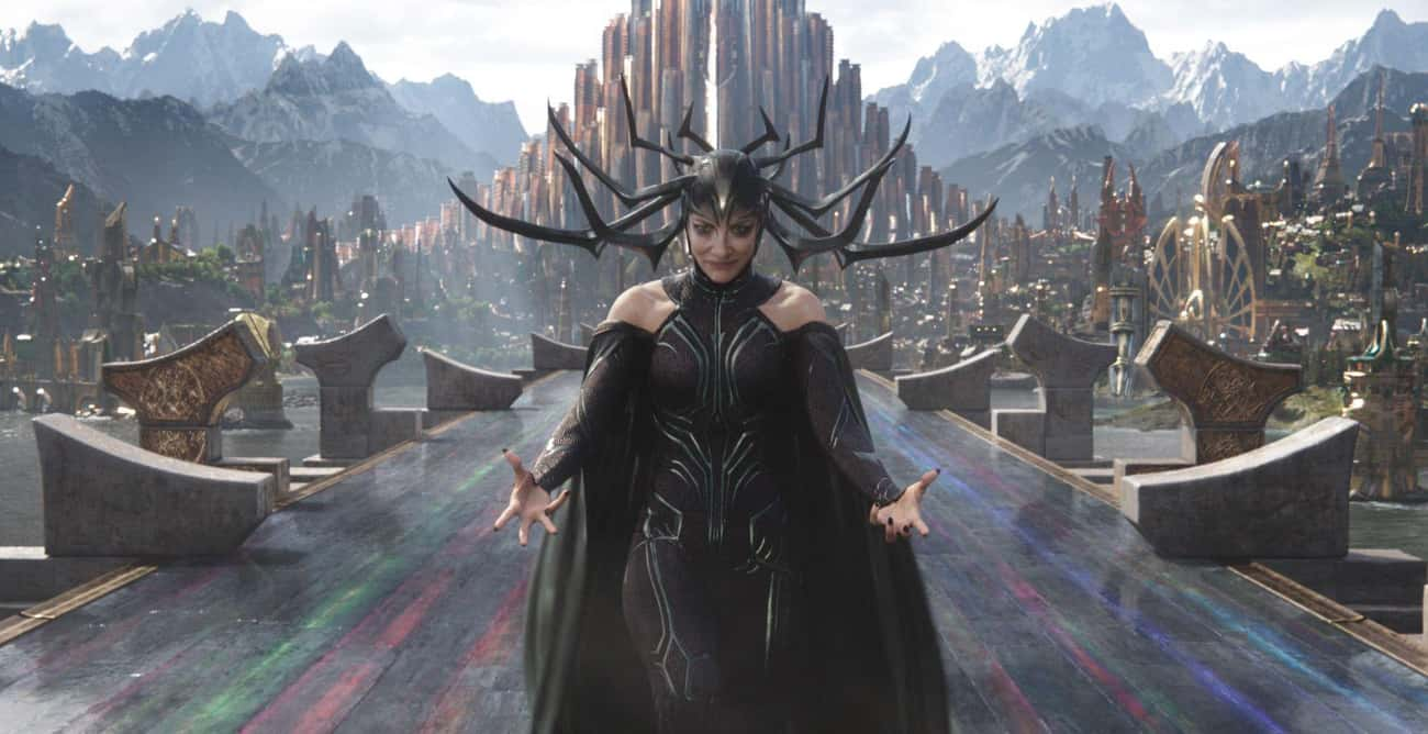 Hela is listed (or ranked) 4 on the list The 25 Strongest Villains In The MCU, Ranked