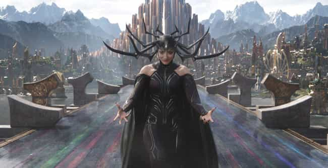 Hela is listed (or ranked) 3 on the list The 25 Strongest Villains In The MCU, Ranked