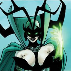 Hela is listed (or ranked) 2 on the list The Best Thor Villains, Foes, and Enemies of All Time