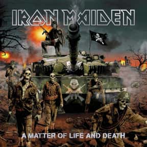 A Matter of Life and Death is listed (or ranked) 12 on the list All Iron Maiden Albums, Ranked Best to Worst
