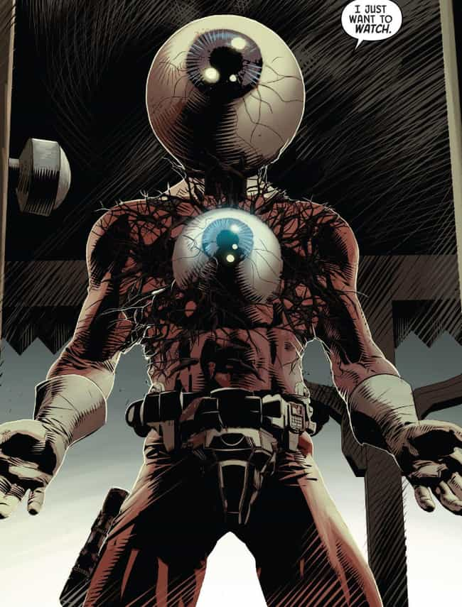 Orb is listed (or ranked) 7 on the list Strange Comic Book Characters Even The Marvel Cinematic Universe Couldn't Sell To Audiences