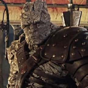 Korg is listed (or ranked) 6 on the list The Best Characters In The Thor Movies