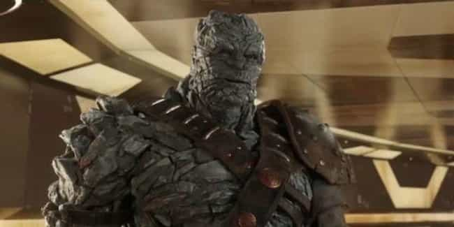 Korg is listed (or ranked) 4 on the list The Funniest Characters In The MCU