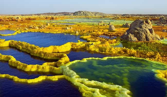 Real Landscapes That Look Like They're From Another Planet