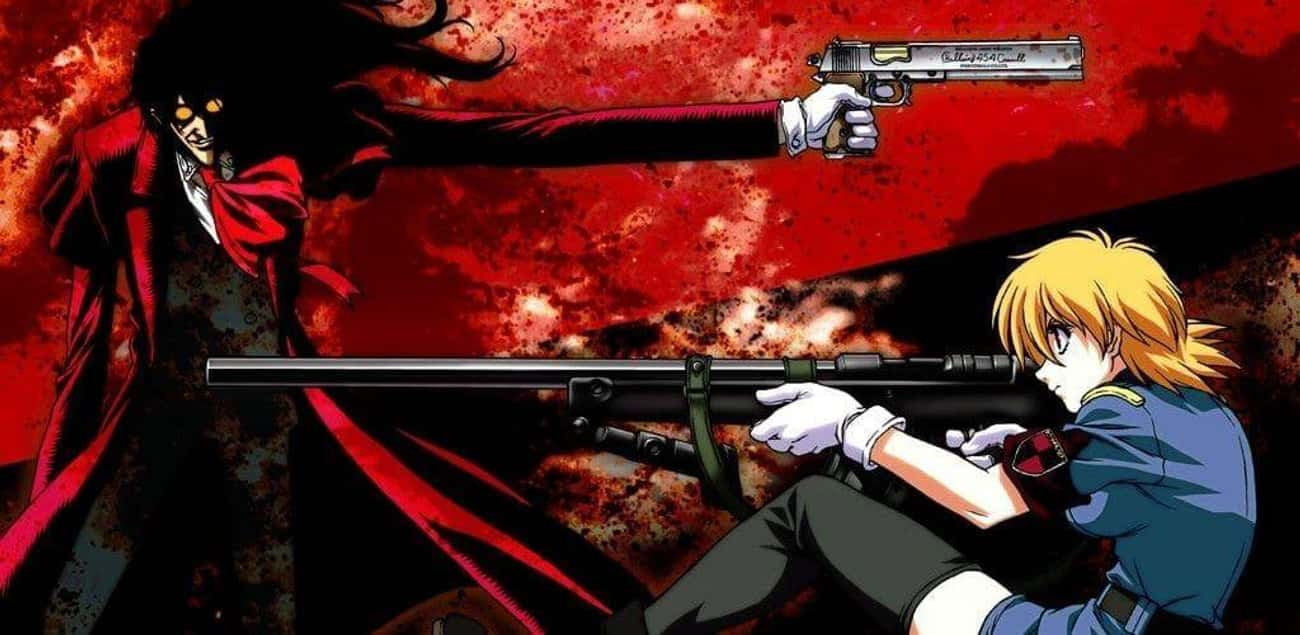 Hellsing is listed (or ranked) 3 on the list The Best Vampire Anime of All Time