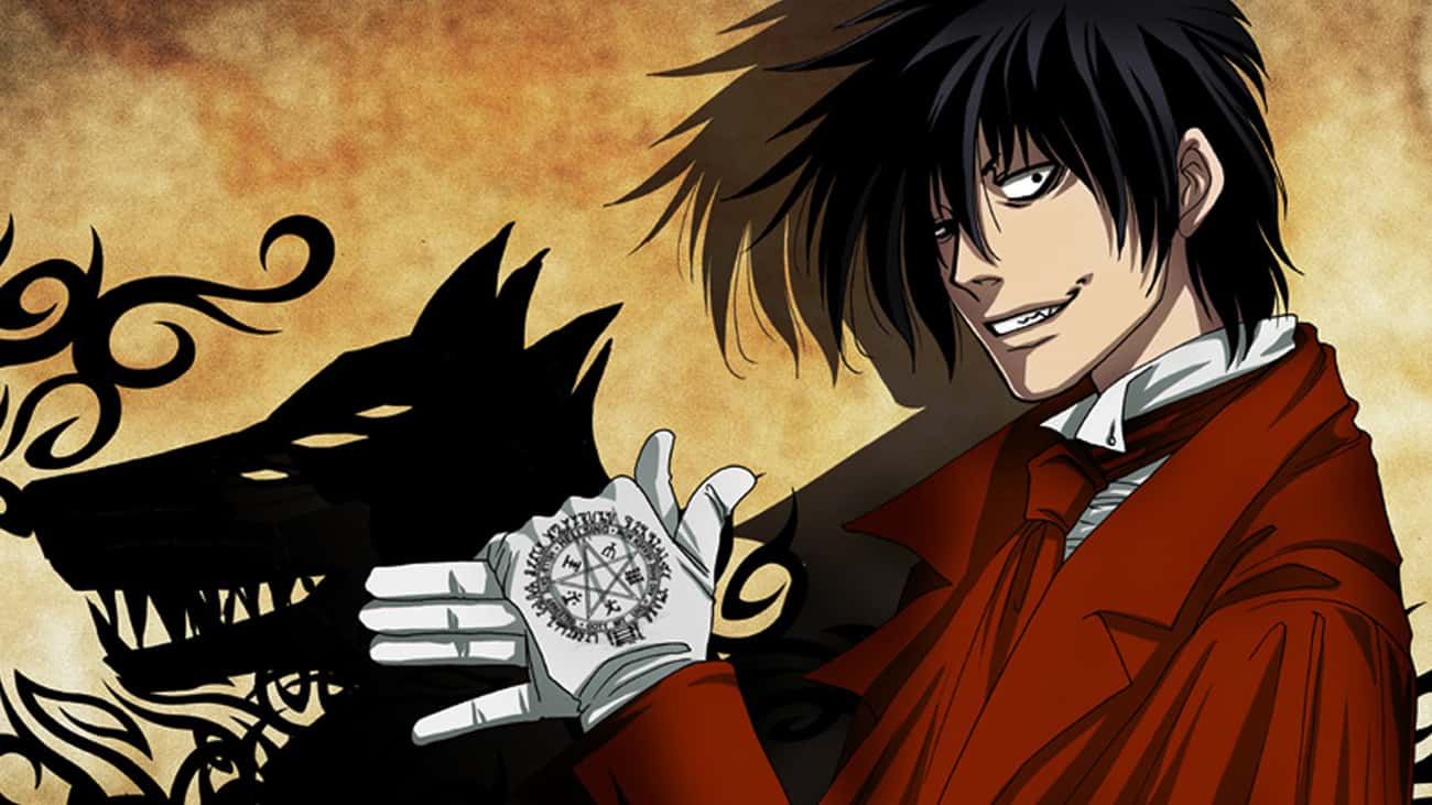 Hellsing is listed (or ranked) 3 on the list 11 Great Anime That Deserve Live Action Movie Adaptations