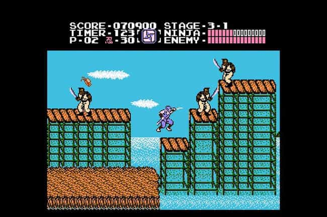 Ninja Gaiden is listed (or ranked) 2 on the list 20 Classic NES Games That Are So Mind-Numbingly Difficult They're Practically Unbeatable