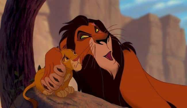 Scar is listed (or ranked) 3 on the list Cartoon Characters You Never Realized Suffer From Mental Disorders