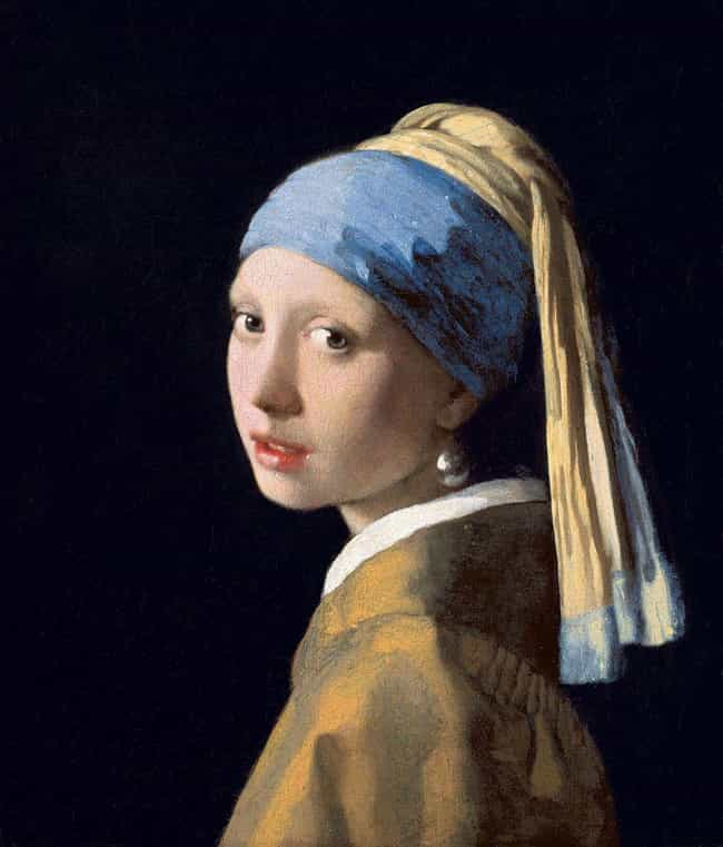 Girl with a Pearl Earrin... is listed (or ranked) 3 on the list The Best Paintings Of All Time