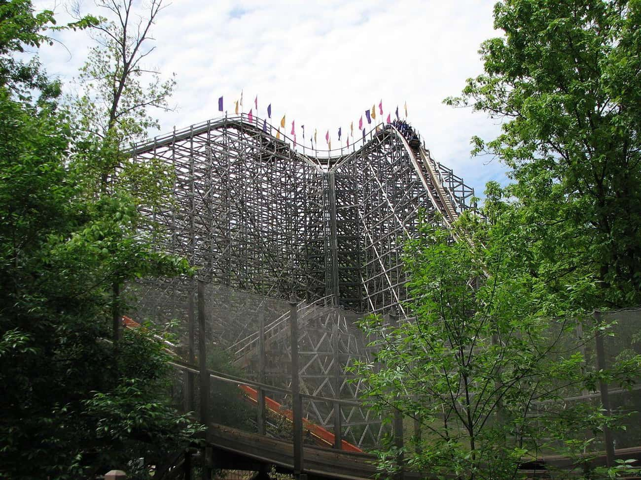 The Legend is listed (or ranked) 2 on the list The Best Rides at Holiday World