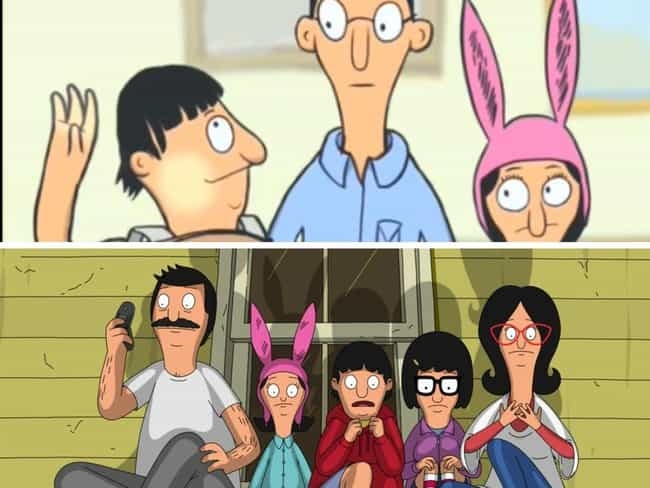 Bob's Burgers is listed (or ranked) 9 on the list How And Why The Animation In Your Favorite Cartoons Changed Over The Seasons