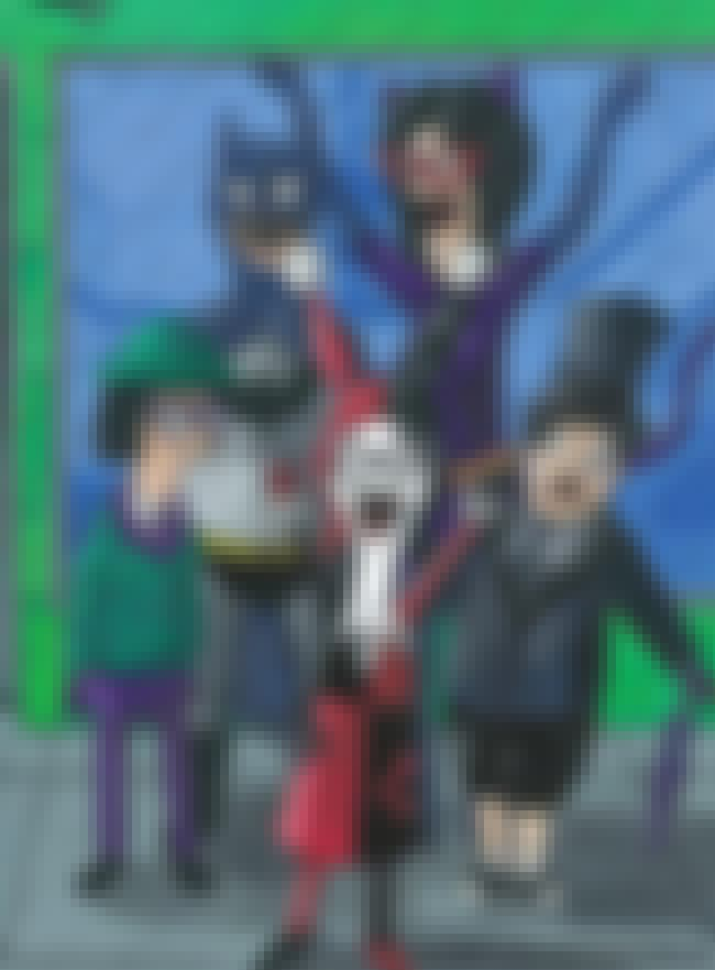 Bob's Burgers is listed (or ranked) 2 on the list 25 Brilliant Pieces Of Batman Mash-Up Art