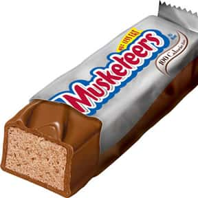 3 Musketeers is listed (or ranked) 17 on the list The Best Chocolate Bars