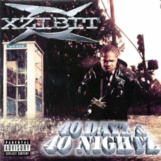 40 Dayz & 40 Nightz ... is listed (or ranked) 2 on the list The Best Xzibit Albums of All Time