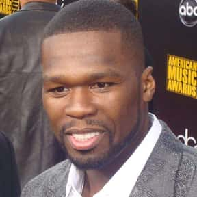 50 Cent is listed (or ranked) 8 on the list Interscope Records Complete Artist Roster