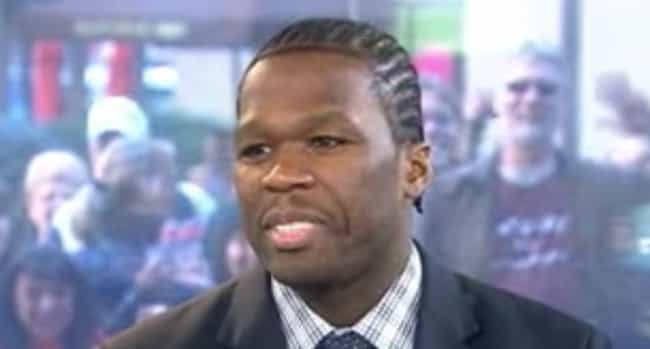 50 Cent is listed (or ranked) 4 on the list Rappers Who Have Cornrows