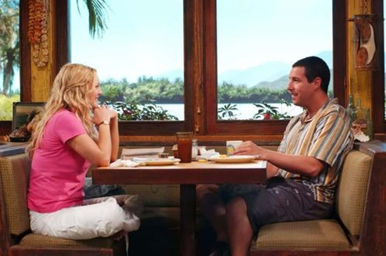 50 First Dates is listed (or ranked) 4 on the list The Best Meet-Cutes in Film History