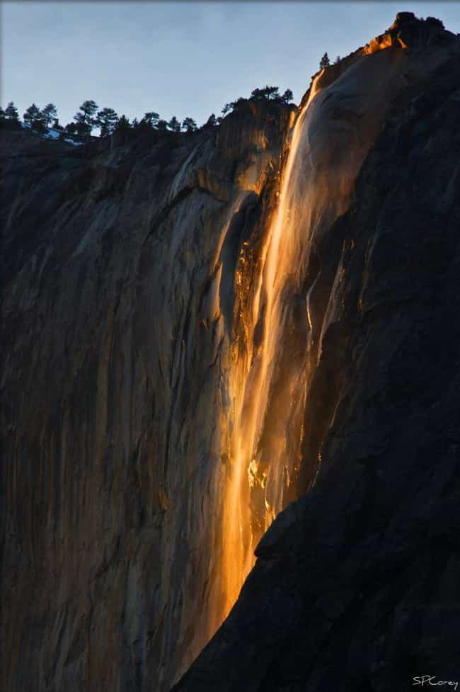 Horsetail Falls is listed (or ranked) 3 on the list The Most Stunningly Gorgeous Places on Earth