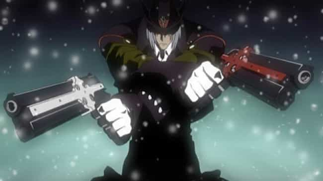 Gungrave is listed (or ranked) 4 on the list The 18 Coolest Anime Guns Of All Time