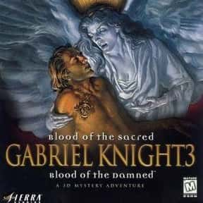 Gabriel Knight 3: Blood of the is listed (or ranked) 25 on the list The Best Point and Click Adventure Games Of All Time