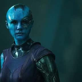 Nebula is listed (or ranked) 4 on the list Who Will Die In Avengers: Infinity War?