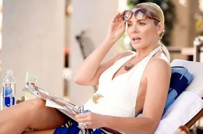 Samantha Jones is listed (or ranked) 3 on the list The Sassiest Characters In TV History