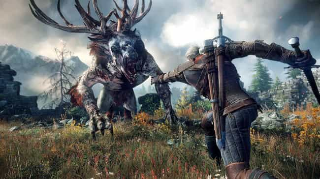 The Witcher is listed (or ranked) 3 on the list 15 Of Your Favorite Video Games You Didn't Know Were Inspired By Books