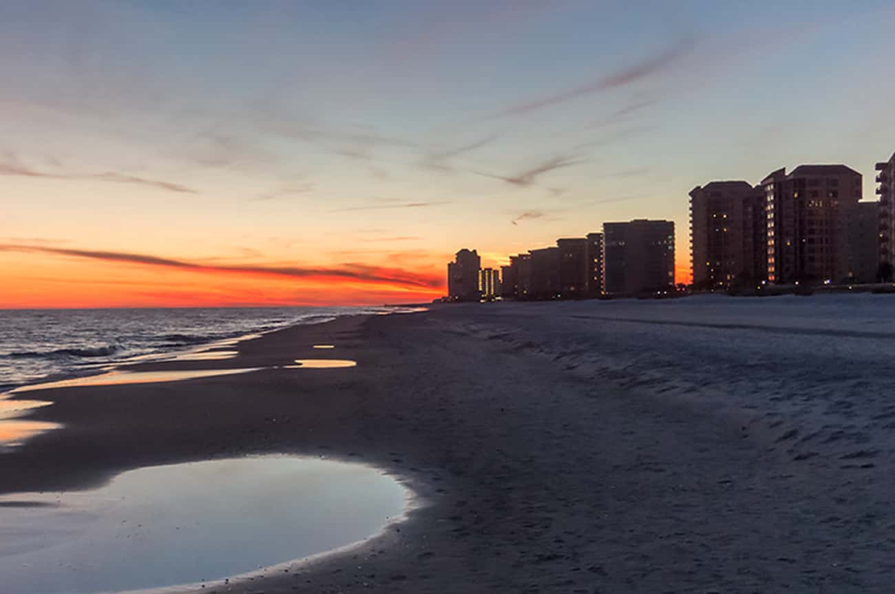 Orange Beach is listed (or ranked) 3 on the list The Best Beaches in the South