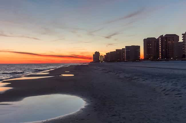 Orange Beach is listed (or ranked) 4 on the list The Best Beaches in the South