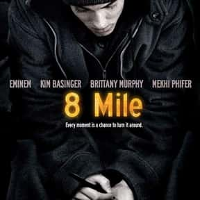 8 Mile is listed (or ranked) 10 on the list The Best Movies About Underdogs