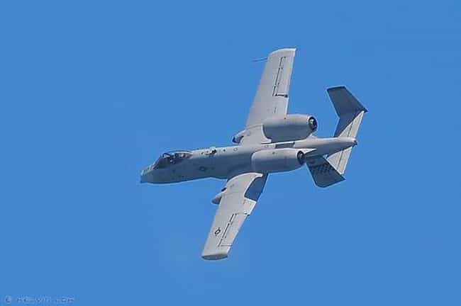Fairchild Republic A-10 Thunde... is listed (or ranked) 3 on the list Planes Used By United States Air Force