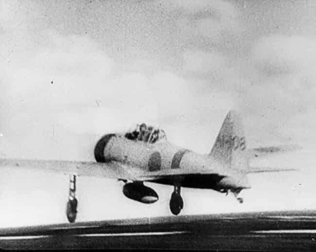 Mitsubishi A6M Zero is listed (or ranked) 4 on the list The Most Iconic World War II Planes