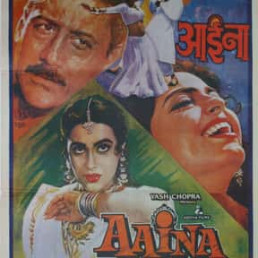 Aaina is listed (or ranked) 22 on the list The Best Bollywood Movies of All Time