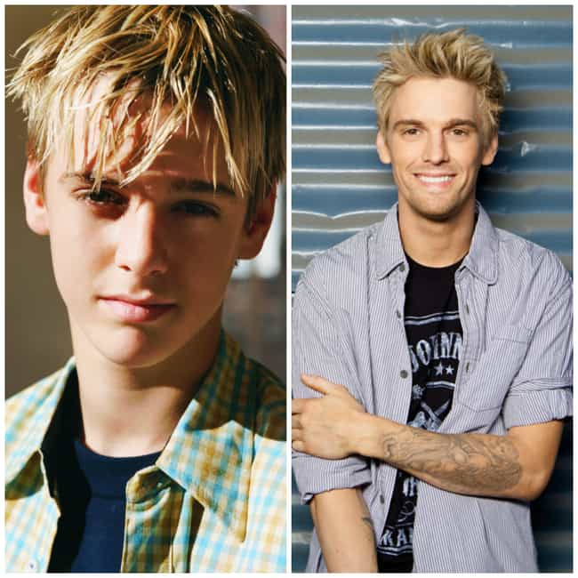 Aaron Carter is listed (or ranked) 4 on the list Your Teen Boy Crushes from the 2000s: Where Are They Now?