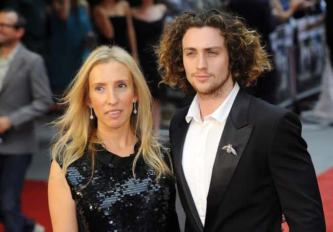 Aaron Taylor-Johnson is listed (or ranked) 22 on the list 48 Famous Couples with Huge Age Differences