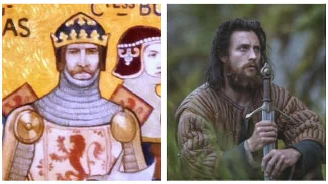 Aaron Taylor-Johnson is listed (or ranked) 2 on the list How The 'Outlaw King' Actors Look Compared To Their Real Life Counterparts