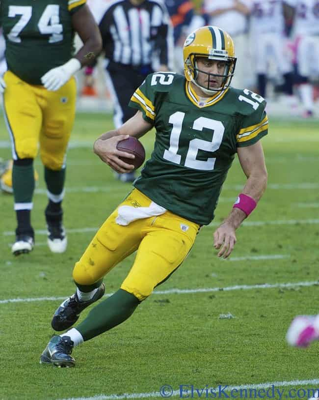 Aaron Rodgers is listed (or ranked) 4 on the list 33 Celebrities Who Were in Tau Kappa Epsilon