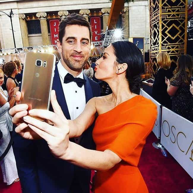 Aaron Rodgers is listed (or ranked) 3 on the list Olivia Munn Loves and Hookups
